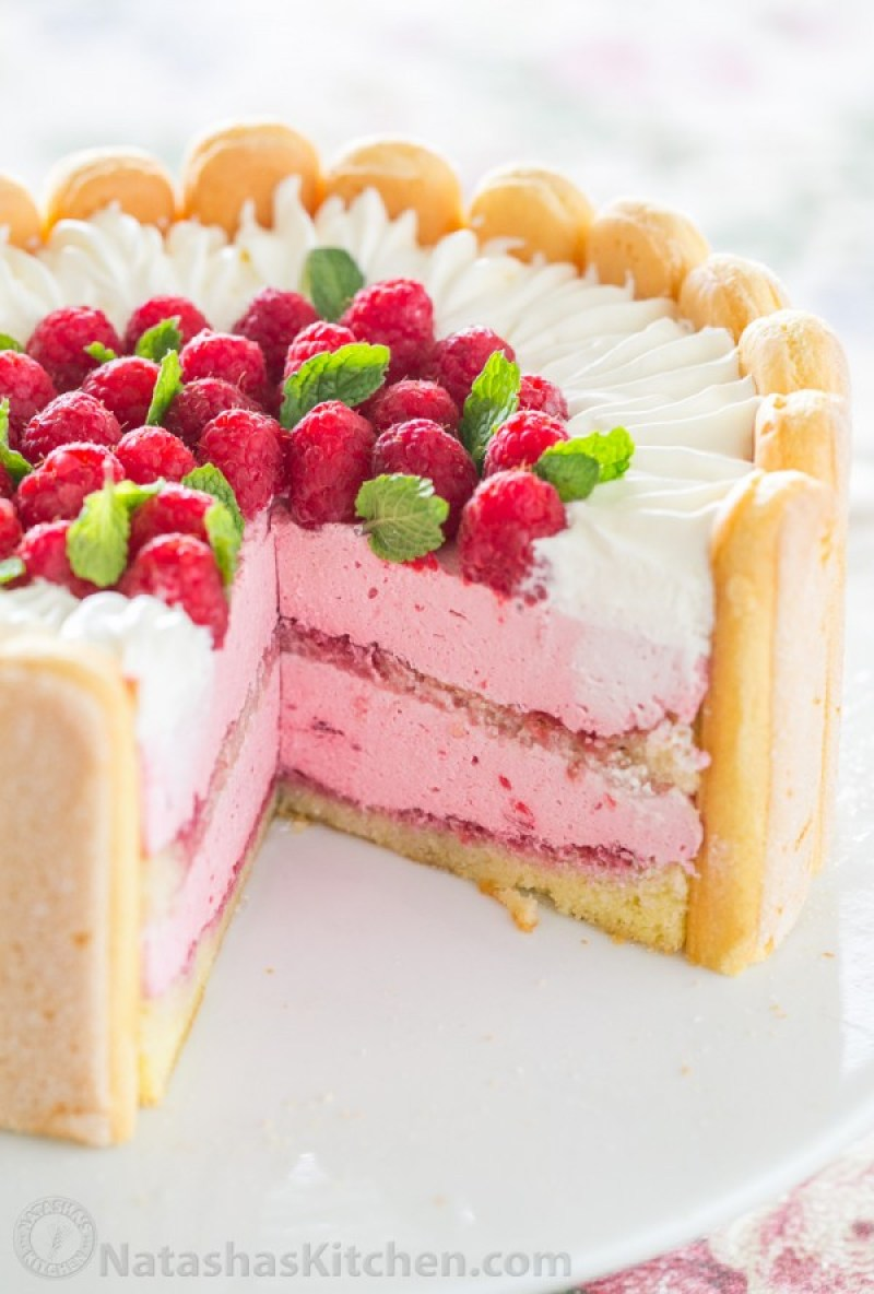 Spring Desserts | Gorgeous Dessert | Beautiful Cake Recipe | Summer Dessert Recipes | Yummy Desserts | Fruit Desserts | Chocolate Desserts | Fancy Elegant Desserts | Impressive Dessert Recipe | Eye Catching | Six Clever Sisters | Mothers Day Ideas | Mothers Day Recipe | Charlotte Cake