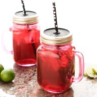 Brewing Hibiscus Tea from Dried Hibiscus Flowers