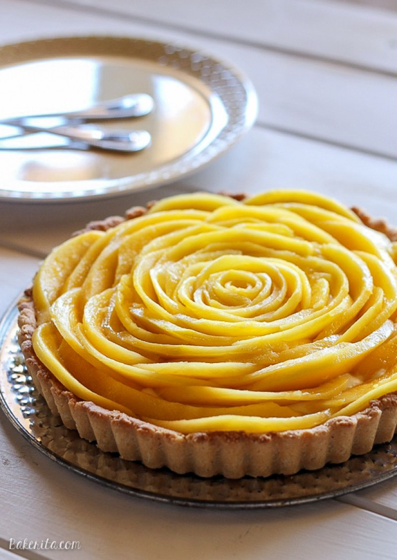 Spring Desserts | Gorgeous Dessert | Beautiful Cake Recipe | Summer Dessert Recipes | Yummy Desserts | Fruit Desserts | Chocolate Desserts | Fancy Elegant Desserts | Impressive Dessert Recipe | Eye Catching | Six Clever Sisters | Mothers Day Ideas | Mango Tart