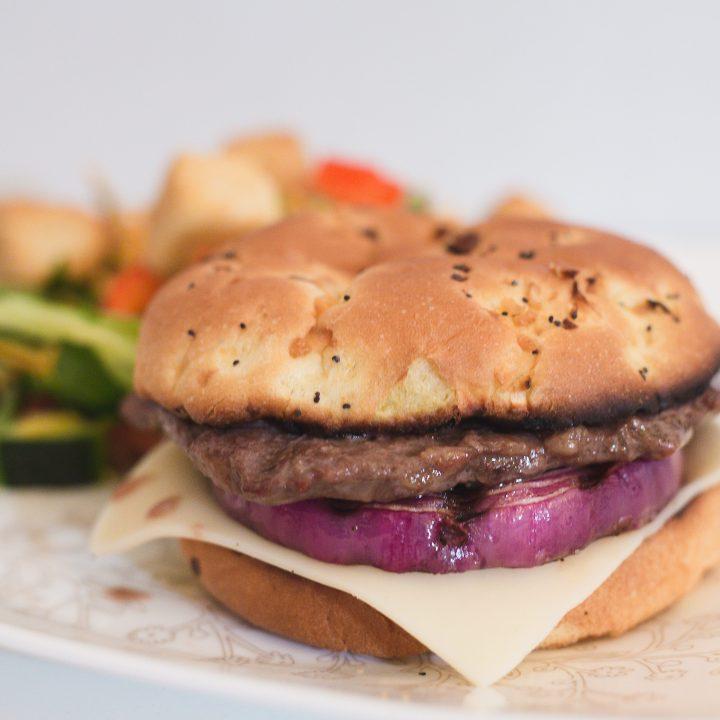 Grilled Rib Eye Steak Sandwiches