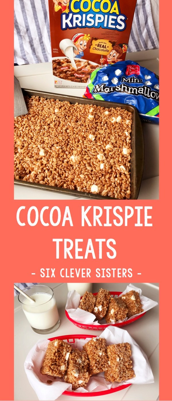 Cocoa Krispie Treat | Cereal Bar | Rice Krispie | Cocoa | Kid Treat | Summer Dessert | Marshmallow | Kid Fun | Summer Fun | Summer | Dessert | No Bake | No Bake Dessert | Fun Food