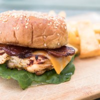 Copycat Chick-fil-A Grilled Chicken Smokehouse BBQ Bacon Sandwich
