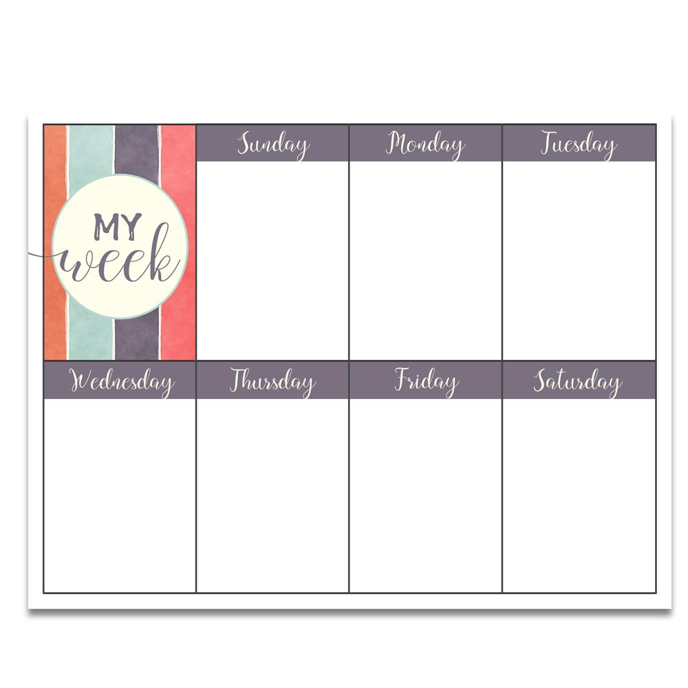 photograph regarding Free Weekly Planner Printable referred to as No cost PRINTABLE Targets Worksheet Weekly Planner Oct