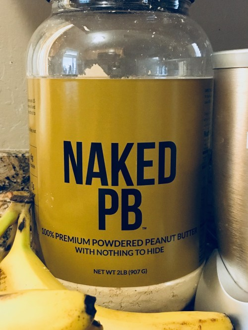 Peanut Butter Powder   Healthy Breakfast   PB Powder   Naked Nutrition   recipes   Six Clever Sisters