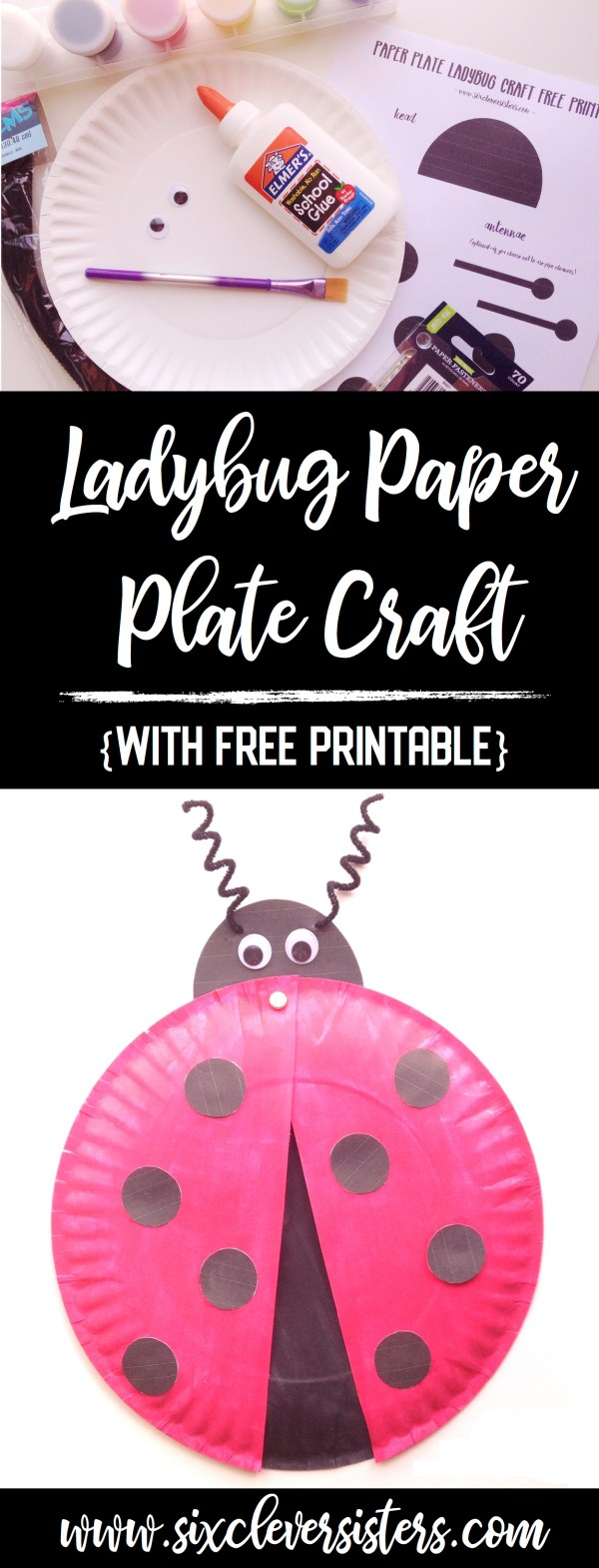 Paper Plate Crafts   Spring Crafts for Kids   Paper Plate Crafts for Toddlers   Paper Plate Crafts for Kids   Paper Plate Crafts Animals   Paper Plate Art Crafts   Ladybug Paper Plate Craft   Ladybug Paper Plate Art   Ladybug Paper Plate Project   Ladybug Paper Craft   Ladybug Paper Plate Craft for Kids   Spring Crafts for Kids Easy   This easy paper plate craft includes a free printable!