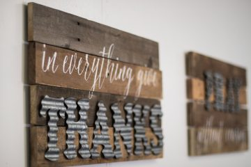 Wood Projects   Wood Projects DIY   Galvanized Decor   Galvanized Decor Farmhouse Style   Galvanized Letters Decor   Galvanized Craft Letters   DIY Wood Sign Ideas   DIY Wood Sign Tutorial   DIY Wood Sign Craft   This ever-so-easy #project can be done by anyone, even if you don't consider yourself crafty. It's so practical! #sixcleversisters
