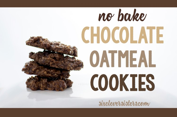 No Bake Cookies   No Bake Cookies Recipe   No Bake Cookies Recipe With Peanut Butter   5 Minute Recipes Simple   No Bake Cookies Recipe Easy   Cookie Recipes Easy   5 Minute Recipes   No Bake Cookies Oatmeal   Want to whip up a batch of these #goodies without having to turn on the oven during these hot #summer days? This is the perfect #recipe! #sixcleversisters