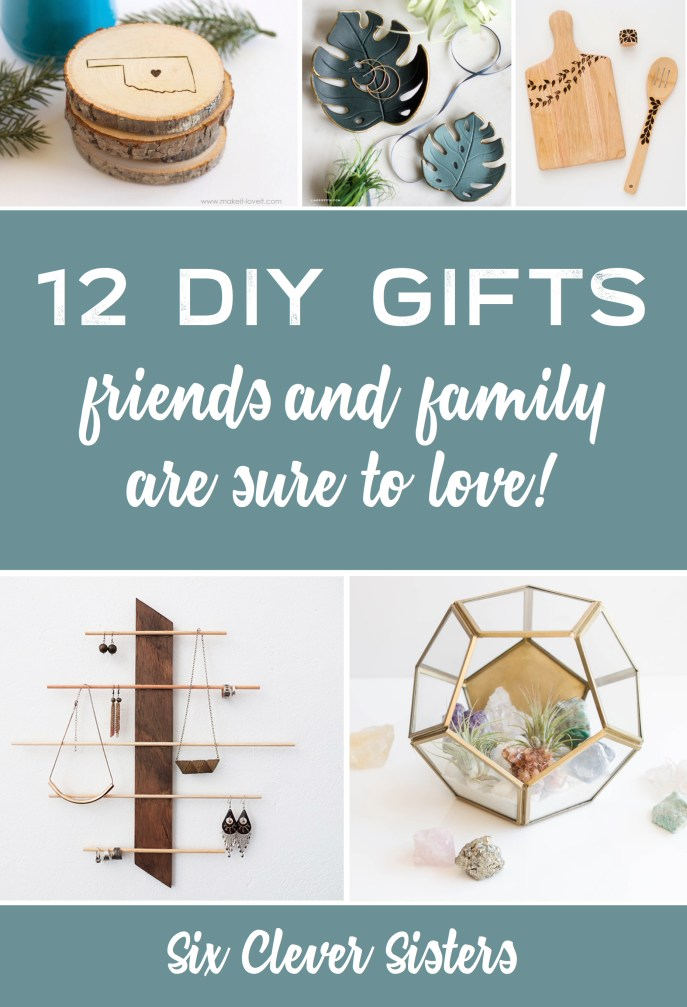 DIY Gifts | Christmas Gift Ideas | DIY Gifts for Mom | Christmas Gift Ideas 2018 | DIY Gifts for Friends | DIY Gifts at Home | DIY Gifts and Crafts | DIY Gifts Adults | Unique DIY Gift Ideas | DIY Gifts Amazing | Christmas Gift Ideas Unique | Looking for that unique diy gift to give someone special this Christmas? These ones are so amazing and sure to be a perfect gift! #diy #christmas #christmasgifts #sixcleversisters