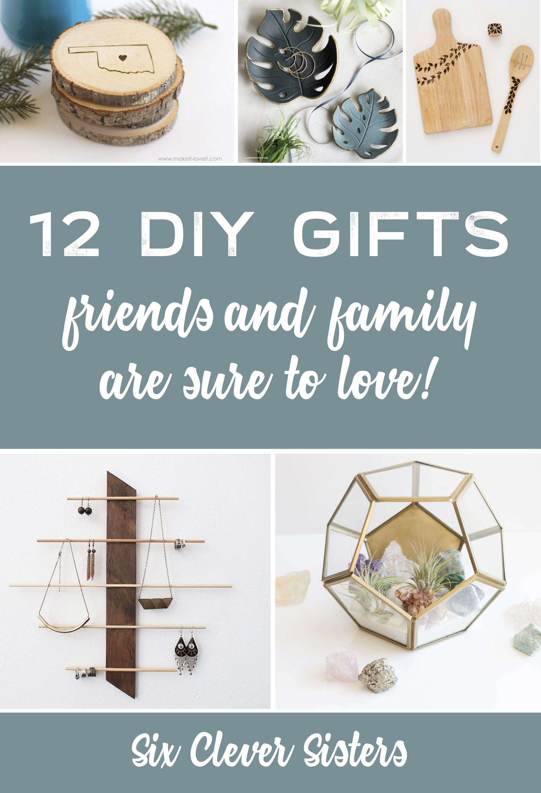 12 DIY Gifts That Your Family and Friends Will LOVE To Get