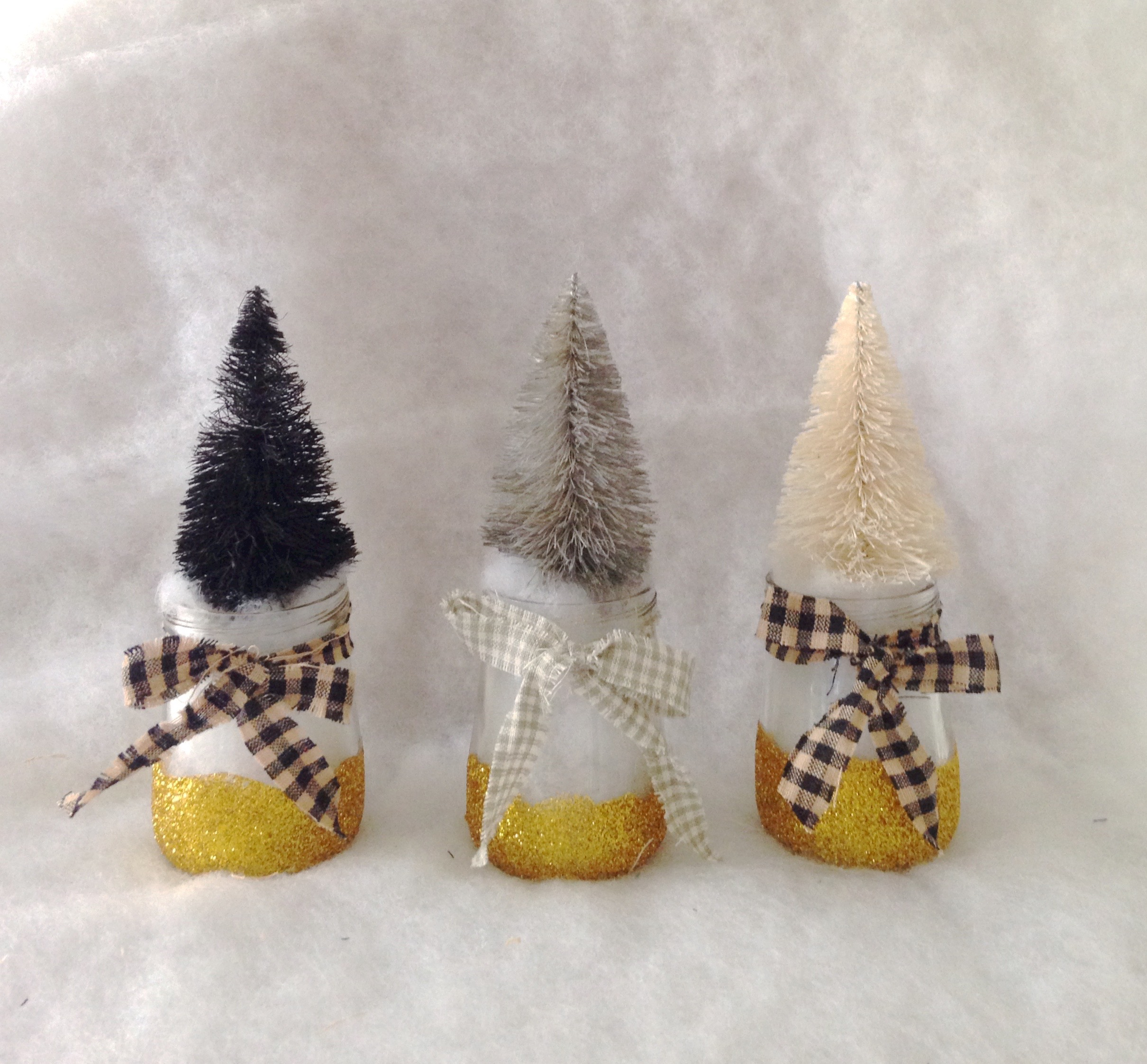 How I Turned Baby Food Jars Into Cute Christmas Decor 4 Six Clever Sisters