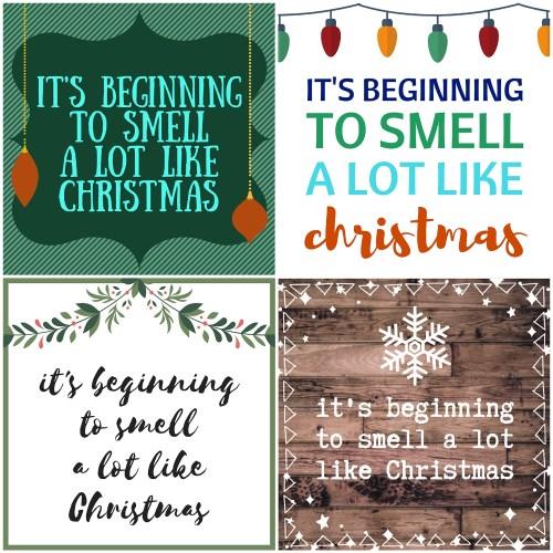 Christmas Gift Tag | Free Printable Christmas Gift Tag | Free Printable Gift Tag | DIY Christmas | Free Printable Christmas | Candle Gift Tag | Christmas Candle | Gift Ideas | Christmas Gift | Christmas Gifts for Mom | Christmas Gifts DIY | Free Printable Christmas | Free Printable Tags | Six Clever Sisters