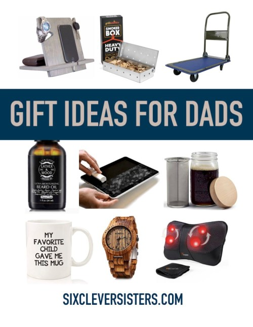Mens Gift Idea | Gift List for Dads | Gift Ideas for Dad | Grandpa Gifts | Dad Gifts | Christmas Gift Ideas | Gift Lists | Visit six clever sisters for some awesome men gifts! #christmasshopping #giftguide #holidaygiftideas #sixcleversisters