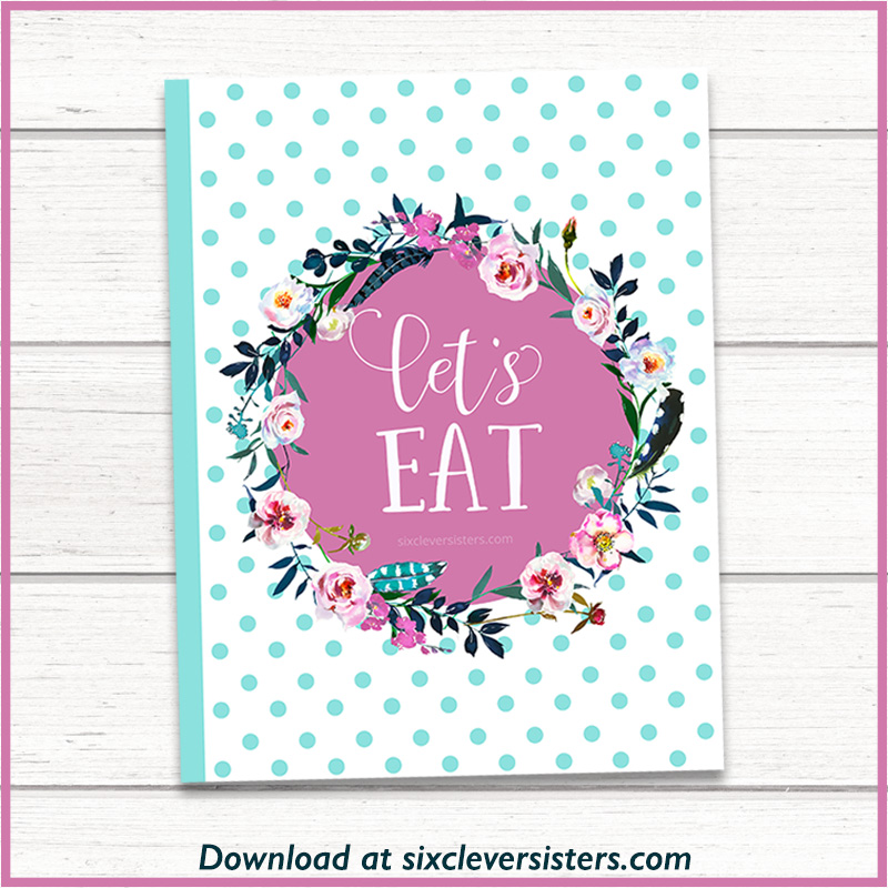 This is a picture of Happy Planner Recipe Printable throughout classic