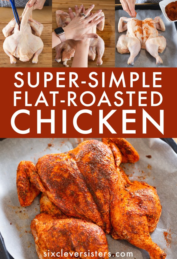 Whole Roasted Chicken Recipe | How to Make a Whole Roasted Chicken | Whole Roasted Chicken and Vegetables | Flat Roasted Chicken | Flat Roast Chicken Cooking Time | Flat Oven Roasted Chicken | Simple Flat Roasted Chicken