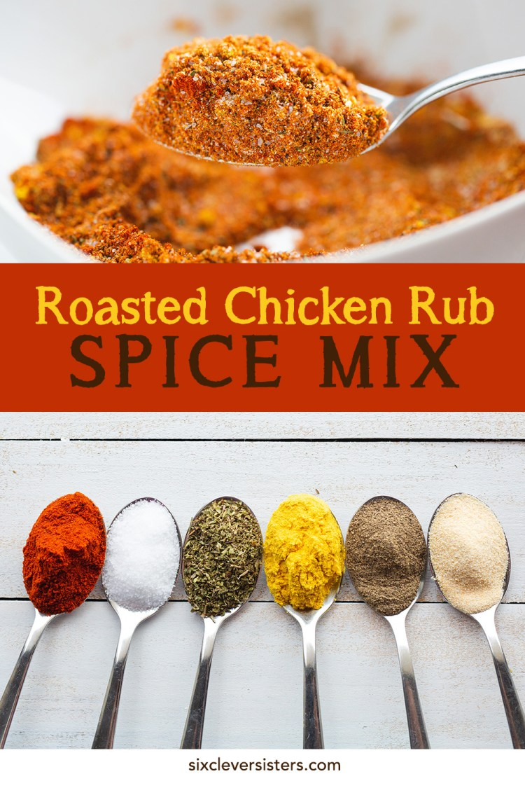 Dry rub spice mix for chicken | spice rub mix for chicken | chicken rub recipe | chicken rub recipe for baking | chicken rub recipes for grilling | chicken rub recipe paprika | chicken rub recipe for roasting