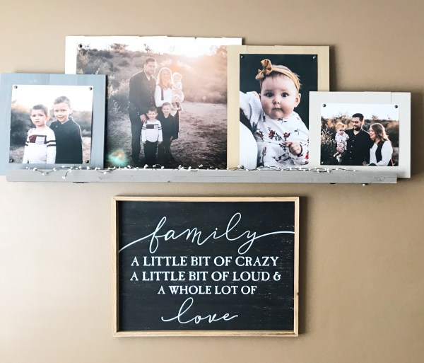Frames | Wood Frames | DIY Frames | Farmhouse | DIY Farmhouse | Photo Frames | DIY Decor | Farmhouse Decor | FarmHouse Living Room | Farmhouse Style | Farmhouse Bedroom | Frames Ideas | Frames Ideas Wall | Frames On Wall | Rustic Home Decor | Simple Tutorial for these frames on Six Clever Sisters!