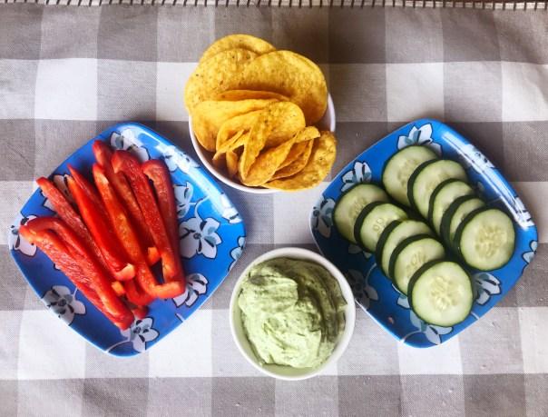 Avocado | Healthy Appetizer | Summer Dip | Avocado Recipes | Cilantro Lime Dressing | Cilantro Recipes | Pool Party | Pool Party Ideas | Summer Party Food | Summer Food | Appetizer | Appetizer Easy | Appetizer Healthy | Appetizers for Party | Dip for Chips | Dip for Chicken | Dip for Parties | Lime | Garlic | Dip Recipe | Recipe on Six Clever Sisters!