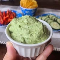 Avocado Cilantro Lime Dip