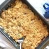 Apple Oatmeal Crisp Recipe | Apple Dessert | Apple Cobbler | Fall Dessert | Spring Dessert | Easter Dessert | Thanksgiving | Sweet Tooth | Fruit Dessert | Six Clever Sisters