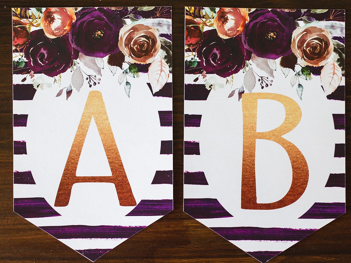 photo about Free Printable Banner Letters Pdf referred to as Social gathering Decor Archives - 6 Good Sisters
