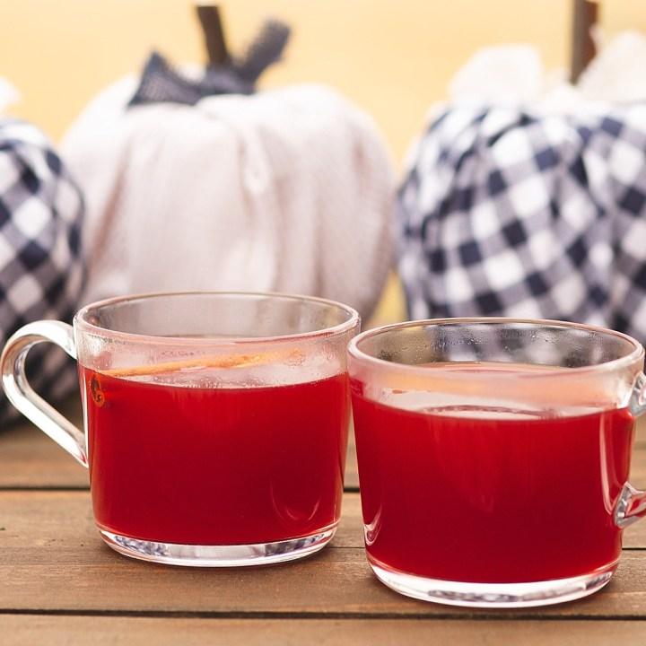 Red Hot Cinnamon Citrus Tea