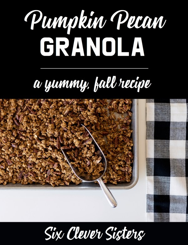 Granola Recipe | Granola Recipe Easy | Pumpkin Pecan Granola Recipe | Homemade Granola Recipes | Pumpin Granola | Pumpkin Granola Recipe | Granola Recipes | Granola Recipe Homemade | Granola Recipe Homemade Easy | Pumpkin Recipes | #pumpkin #pumpkinspice #pumpkinrecipes #pecan #granola #breakfast #breakfastrecipes #breakfastideas #oatmeal #oats #recipes #baking #bakingrecipes #fall #fallrecipes