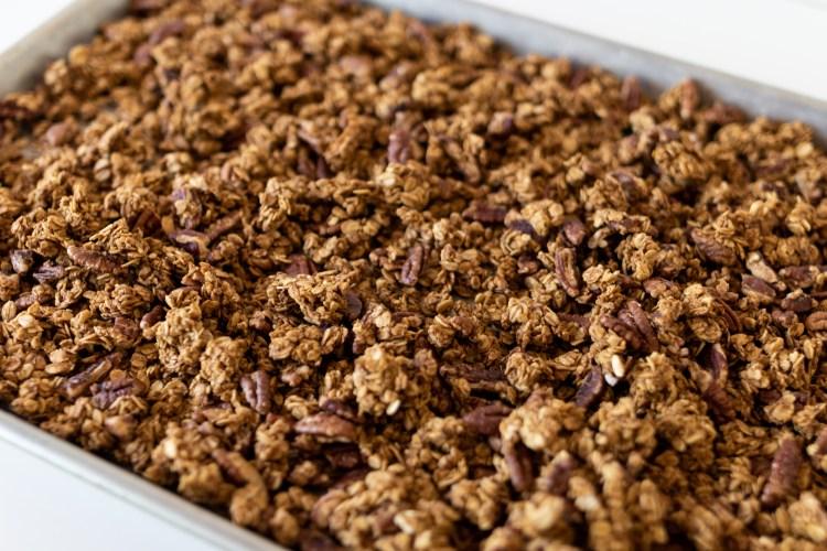Granola Recipe | Granola Recipe Easy | Pumpkin Pecan Granola Recipe | Homemade Granola Recipes | Pumpin Granola | Pumpkin Granola Recipe | Granola Recipes | Granola Recipe Homemade | Granola Recipe Homemade Easy | Pumpkin Recipes | #pumpkin #pumpkinspice #pumpkinrecipes #pecan #granola #breakfast #breakfastrecipes #breakfastideas #oatmeal #oats #recipes #baking #bakingrecipes #fall #fallrecipes