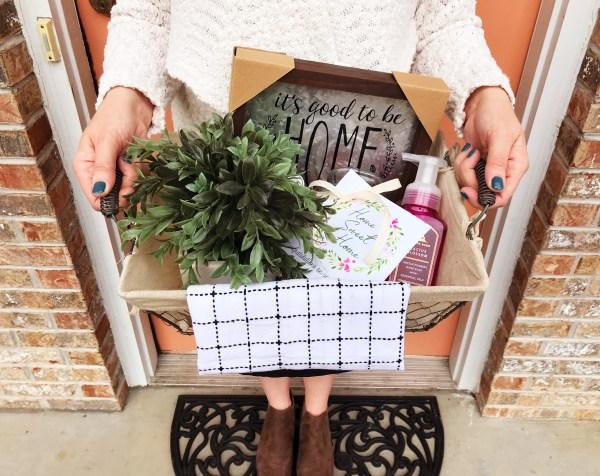Housewarming Gift Idea | New Home | Gift Idea | New Homeowner | New Home Gift | Wedding Gift | Marriage Gift | New Couple | Farmhouse | New Neighbor | Neighbor Gift | Welcome Home | Welcome to the Neighborhood | Warm Welcome | Gift | Welcome Gift | Gift Basket | Six Clever Sisters
