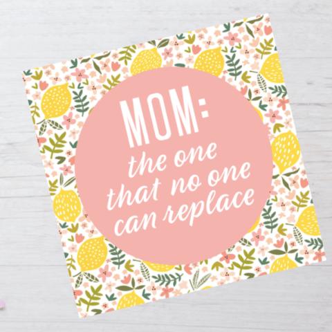 Lemon Card Printable | Lemon Printable | Free Printable Mothers Day Card | Pretty Mothers Day Card | Mothers Day Gift Idea | Mothers Day Quotes | Mothers Day Party | Mothers Day Ideas | Free Printable Cards | Free Printable Mom | Mom Quotes | Mom Life | Six Clever Sisters