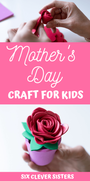 Mother's Day Crafts | Mother's Day Crafts for Kids | Mother's Day Craft Ideas | Mother's Day Craft Gifts | Mother's Day Craft Activities | Mother's Day Flower Crafts | Mother's Day Craft Flower Pot | Mother's Day Flower Craft Ideas | Mother's Day Crafts for Kids Easy | Give mom a special homemade gift this Mother's Day with this easy flower pot craft for kids to make! #craft #ideas #kidsactivities #activitiesforkids #mothersday #diy #craftsforkids #flower