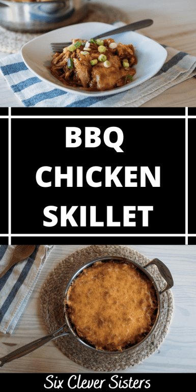 Skillet Meals | Skillet Meals Recipe | Dinner Ideas | Dinner Recipes | Dinner Recipes Easy | BBQ Chicken Recipe | Easy Recipes | Easy Recipes for Dinner | One Pan Meals | Looking for some new dinner ideas for the family? This yummy bbq chicken skillet recipe is simple to make and something the entire family can enjoy. #dinner #dinnerideas #chicken #recipes #recipeoftheday #bbq #skilletmeals