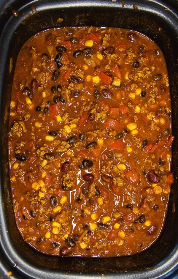 Chili Recipe | Chili Recipe Crockpot | Chili Recipe Easy | Chili Sweet and Spicy | Easy Sweet and Spicy Chili Recipe Crockpot | Recipe on the Six Clever Sisters blog!