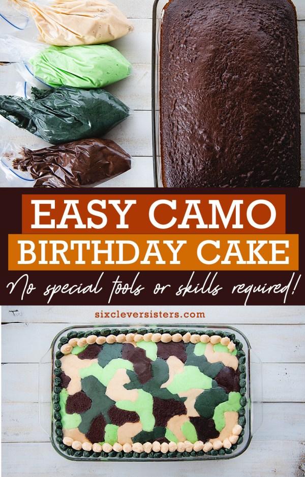 Easy Camo Birthday Cake | Camo Birthday Cake for Boys | Camo Cake Birthday Camouflage | Camouflage Cakes Birthday | Camo Birthday Cake for Boys Camouflage Birthday