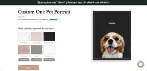 West & Willow   Custom Pet Portrait   Custom Pet Gift Idea   Puppy Portrait   Cat Portrait   If you're looking for a custom pet portrait, WestandWillow.com is your place to find it! Go to SixCleverSisters.com for a promo code.