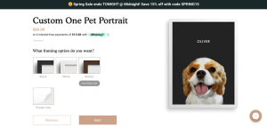 West & Willow | Custom Pet Portrait | Custom Pet Gift Idea | Puppy Portrait | Cat Portrait | If you're looking for a custom pet portrait, WestandWillow.com is your place to find it! Go to SixCleverSisters.com for a promo code.