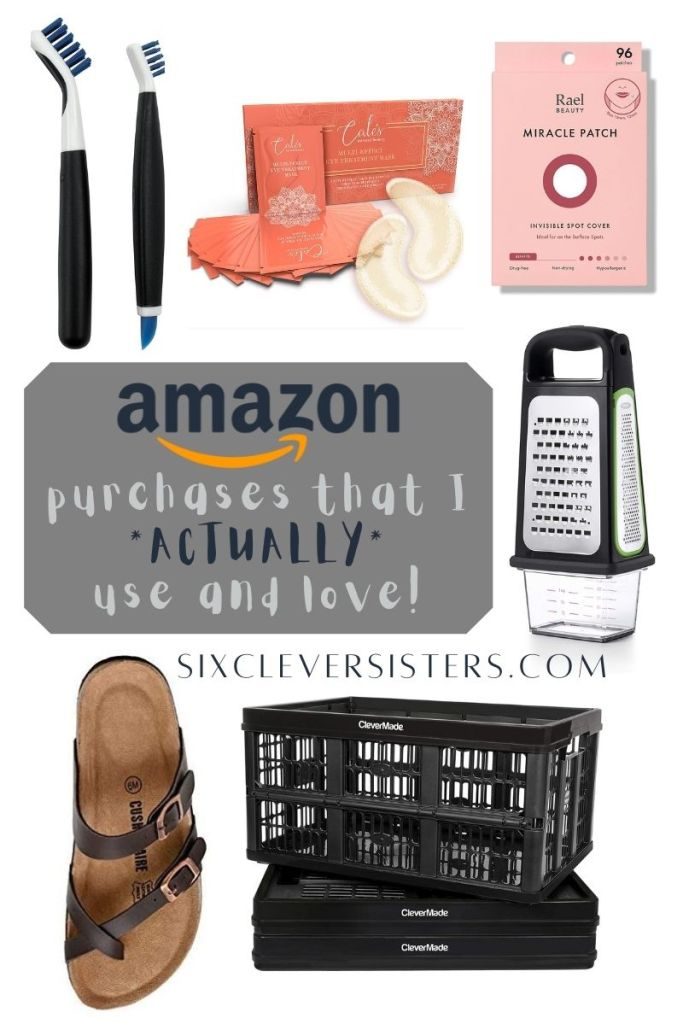 Best Amazon Purchases | Amazon Gadgets | Amazon List | Love Amazon | What to Buy on Amazon | Here's my list of all the things I've purchased on Amazon.com that I *actually* use and love! Find them all at SixCleverSisters.com