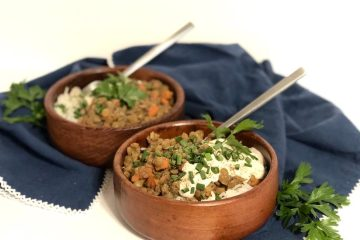 Lentils Recipe   Lentils and Rice   Easy Weeknight Meal   Easy Lentil Recipe   Healthy Lentils Recipe   Lentil Recipe   This easy lentils and rice recipe doesn't take long to make but is sure to be a comforting and warming meal for everyone! The recipe is at SixCleverSisters.com