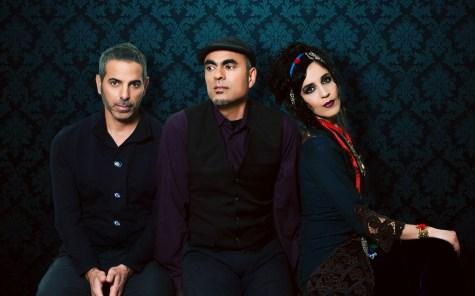 L-R: Carmen Rizzo, Loga Ramin Torkian, Azam Ali,