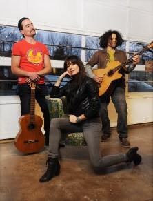 L-R: Adam Popowitz, Silvana Kane, & Toby Peter (photo by Rebecca Blissett)