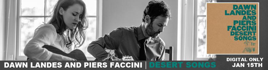 Dawn Landes & Piers Faccini Desert Songs Banner