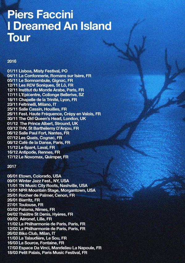 Piers Faccini's Europe and North American Tour Dates Announced