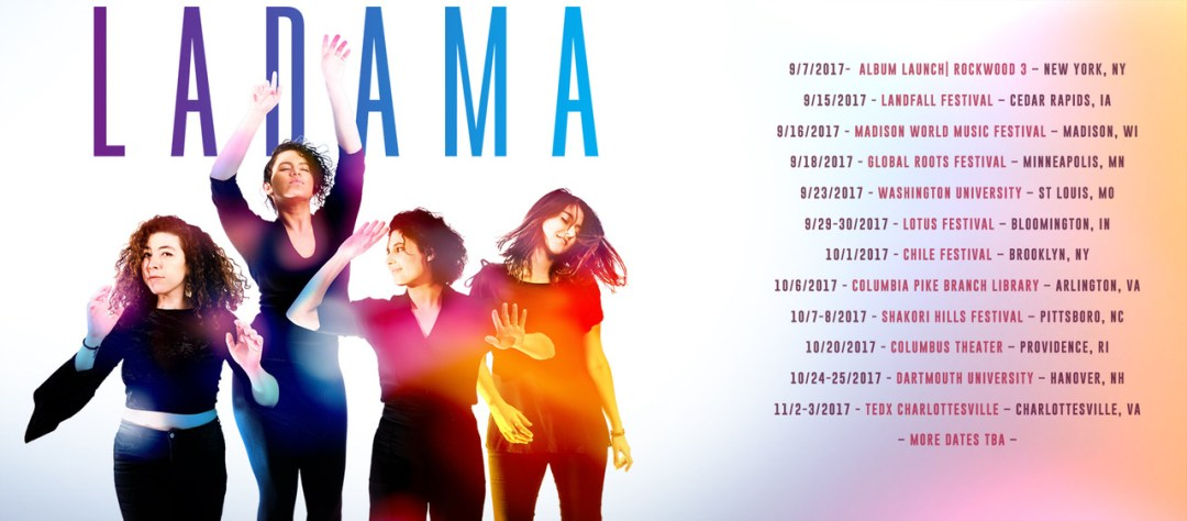 LADAMA announce Tour Dates