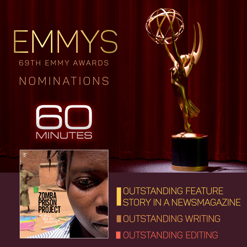 Zomba Prison Project gets 3 Emmy Nominations