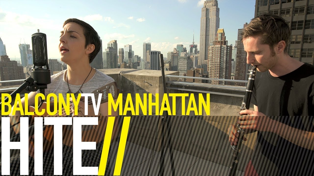 Watch Hite performing from a NY rooftop