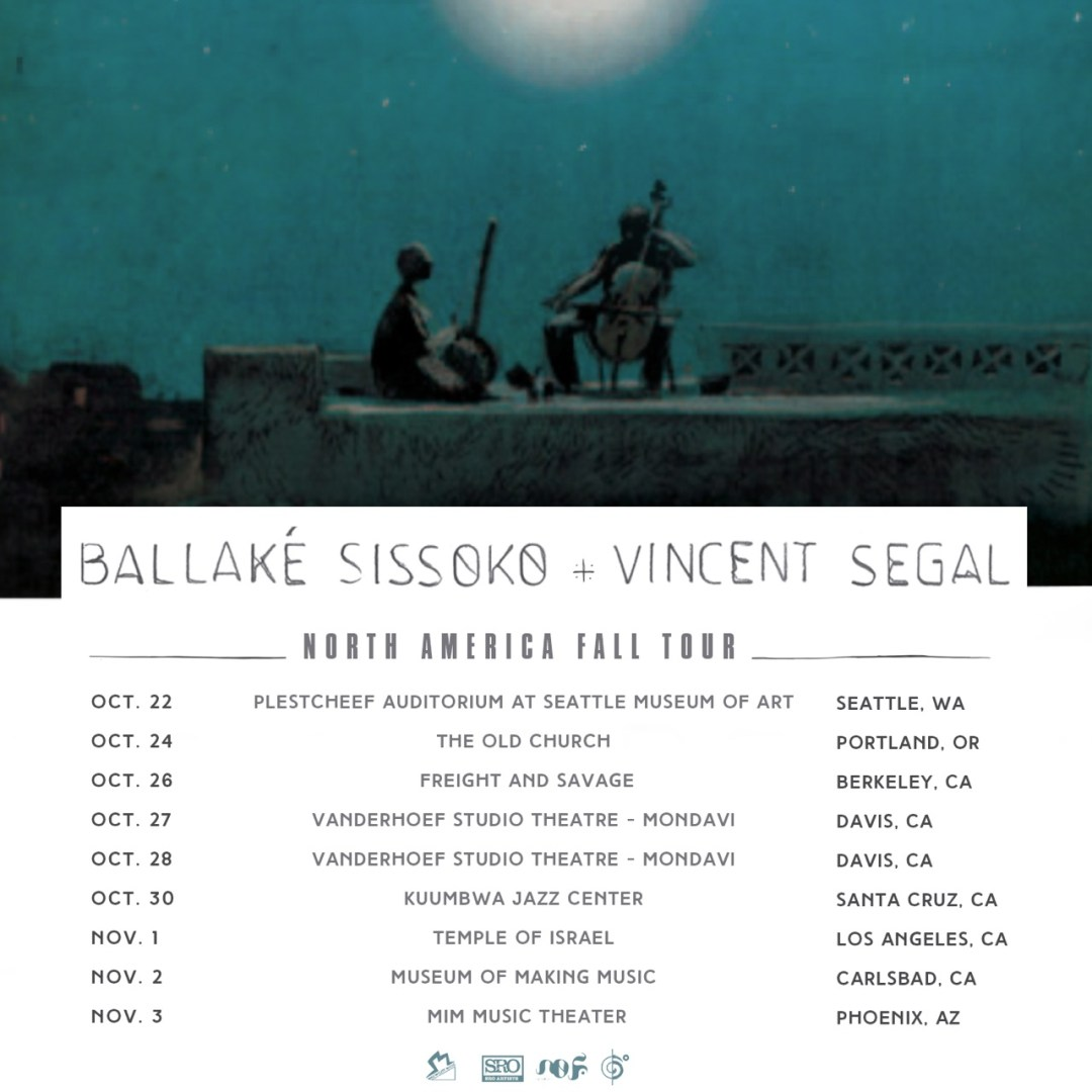 Announcing Ballaké Sissoko And Vincent Segal's USA West Coast Tour