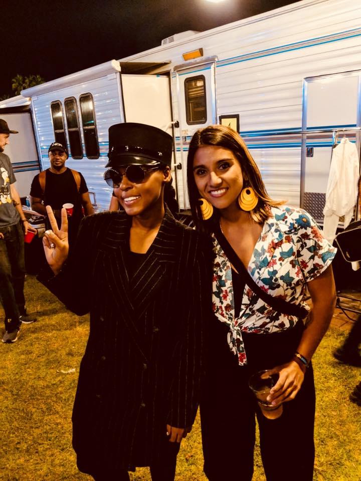 MUSIC TATE GOOD FESTIVAL FINDS LADAMA'S LARA KLAUS HANGING WITH JANELLE MONAE