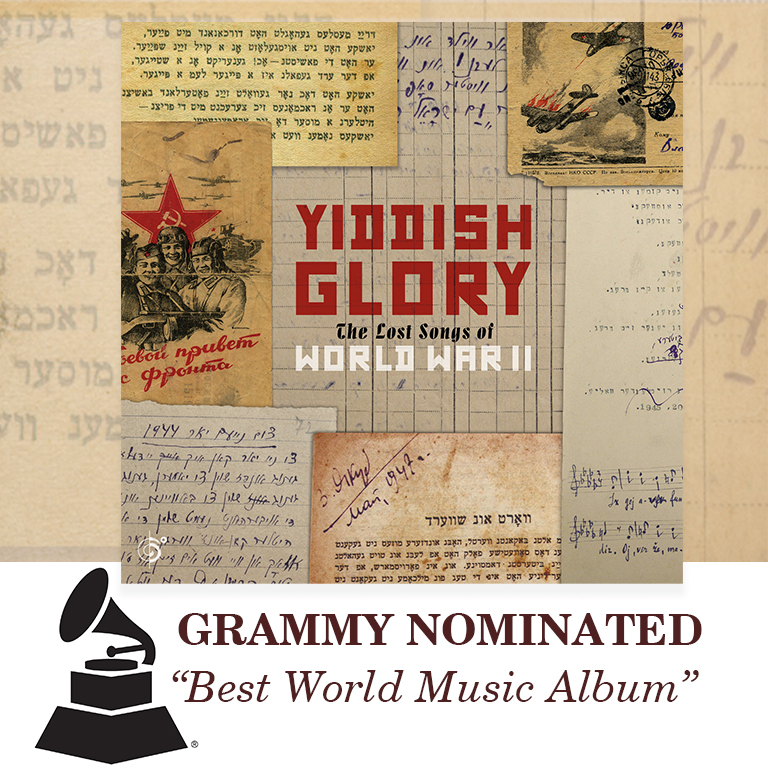 Yiddish Glory Gets A Grammy Nomination