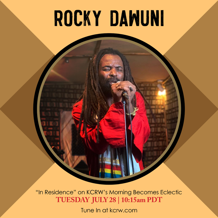 "Rocky Dawuni ""In Residence"" Session for KCRW"