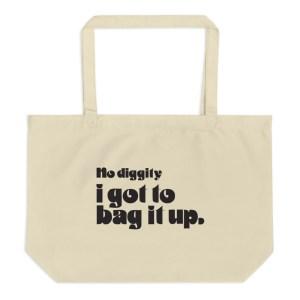 Bag it up organic tote