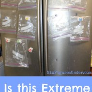 Is this Extreme Frugal Living?